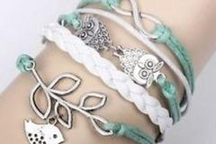 Sell: 192 X New Leather Fashion Bracelets