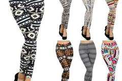 Sell: 60 Pairs of Women High Quality Crop Leggings Pattern Styles