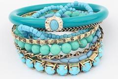 Venta: 250 Units of Brand New Womens Assort Fashion Bracelets