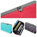Sell: Great Design Women Elegant Quad-Fold Bag, Long Clutch Wallet