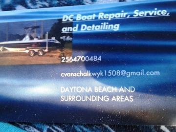 Offering: Detailing whole boat/ watercraft - Daytona Beach, FL