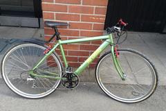"Myydään: Hybrid Bike. 28"" wheels. 200 €  OBO"