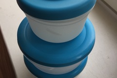 Myydään: Ikea food containers set of 3