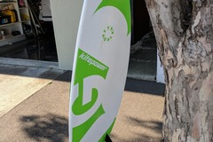 Hourly Rate: Underground Surfboard with straps - 5'8""