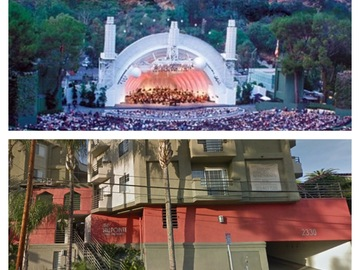 Daily Rentals: Hollywood Bowl, Ford Theater Event Parking (Super Close)