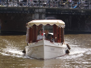 Rent per hour: Rent a Classical Private Boat on the Amsterdam Canals
