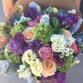 Arrange Pick-up: Sea Lily Malibu- Wrapped Bouquet - 10% to MMNS