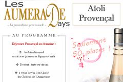 Info: Les Aumérade Days : Vins et Aïoli - 24/06