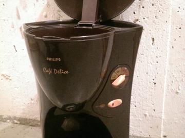 Myydään: Philips café délice coffee brewer