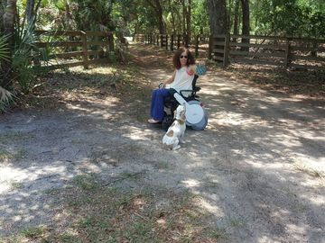Test Drive: Come  to the Florida countryside and test the Whill model A