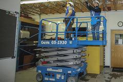En alquiler: Plataforma elevadora tipo tijera - Genie GS1530