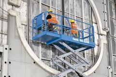 En alquiler: Plataforma elevadora tipo tijera - Genie GS3246