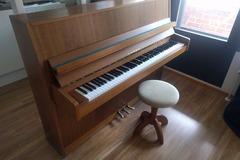 Myydään: Fazer upright piano + accessories