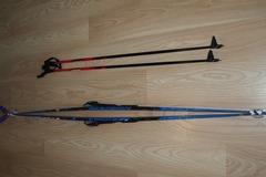 Myydään: Nordic touring skis (205cm)