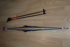 Myydään: Nordic touring skis (190cm)
