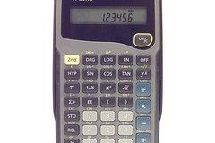 Myydään: Scientific Calculator / Funktiolaskin TI-30XA