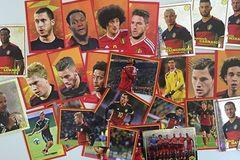Myydään: Football player stickers