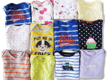 Bulk Lot: (100) Newborn Infant Baby Wholesale Bodysuit Onesie Clothing