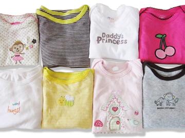 Compra Ahora: (84) Newborn Infant Baby Wholesale Bodysuit Onesie Clothing