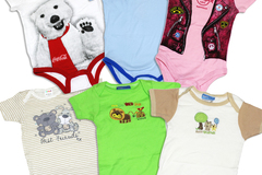 Buy Now: (100) Newborn Infant Baby Wholesale Bodysuit Onesie Clothing
