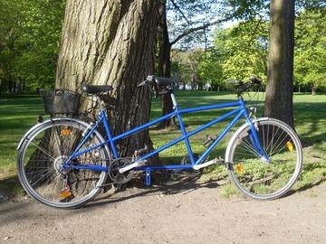 Tandemverleih: City-Tandem - das gemütliche blaue in Leipzig mieten