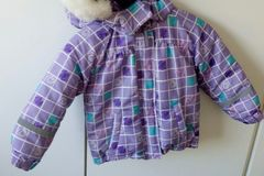 Myydään: Winter Purple jacket for kid