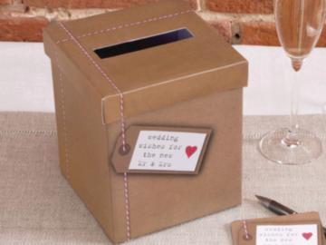 Ilmoitus: Postilaatikko lahjapöydälle