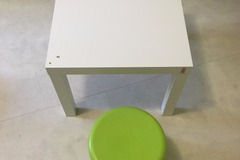 Selling: ikea small table and stool