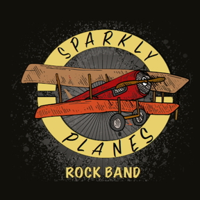 SPARKLY PLANES ROCK BAND