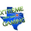 Ntx gaming logo blue glow apx