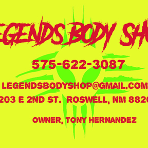 LEGENDS AUTO BODY