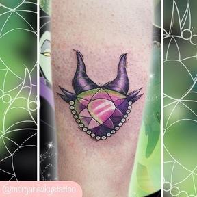 Morgane Skye tattoo