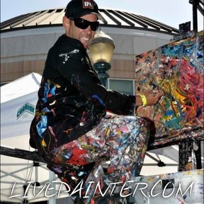 Live Painter Neal Barbosa