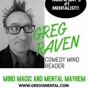 Mentalist Greg Raven
