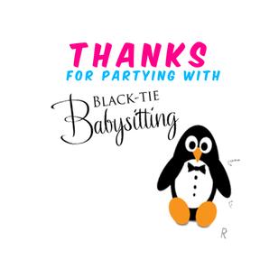 Black-Tie Babysitting
