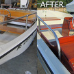 Boston whaler before after brite work cape cod