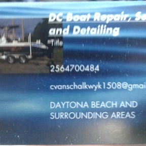 Dc boat repair services and de