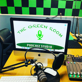 The Green Room Podcast Studio