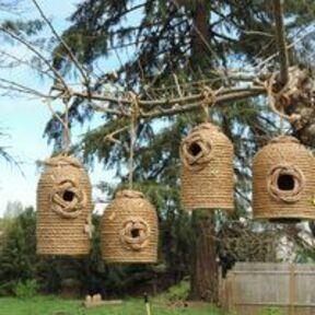Beehive Birdhouses