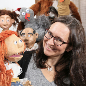Heidi Rugg, Barefoot Puppet Theatre