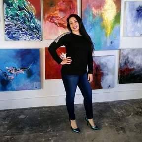 Britteny Ann Cuevas The Artist