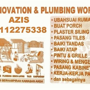 azis plumbing dan renovation